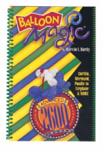 Balloon Magic 260Q Figures Book (Advanced)